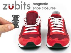 Lace Zubits onto your own shoelaces & they become fast & easy to put on & take off. No tying, knots, or messy bows. Just a clean look.