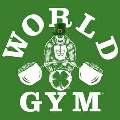 Happy #StPatricksDay #WorldGymDesertCities Peeps!!! May the #luckoftheIrish be with you in your #workout today!!!!