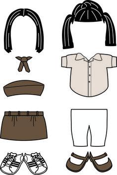 Egypt Girl Guide Uniforms