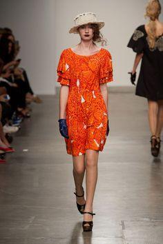 Ivana Helsinki at New York Fashion Week Spring 2014 Spring 2014, Spring Summer, Summer 2014, Marimekko, Helsinki, Cover Up, Short Sleeve Dresses, Vogue, New York