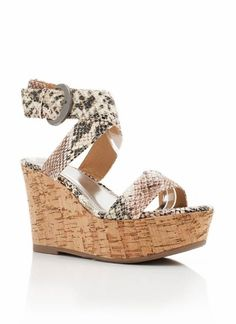love these snakeskin wedges!
