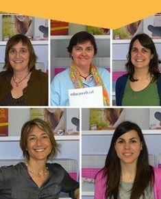 Entrevista al equipo de orientación de Educaweb.  Montserrat Oliveras, Anna Soms, Neus Bosch, Olga Valls y Mª Cristina Caldas.