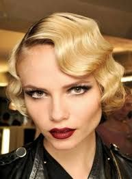 great gatsby hair - Google Search