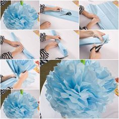 How to make Nice Simple Paper Flower step by step DIY instructions | How To Instructions