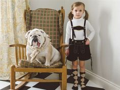 A girl and her bulldog: Mom's photos capture 'sibling' bonding - TODAY.com