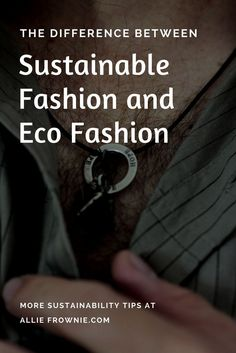 The Difference Between Sustainable Fashion and Eco Fashion When it comes to sustainable fashion and eco fashions, they are seen interchangeably. This is not entirely true, and it's important to distinguish the two. Slow Fashion, Ethical Fashion, Style Fashion, Vegan Fashion, Petite Fashion, Curvy Fashion, Fall Fashion, American Made Clothing, New People