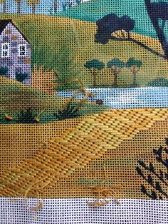 steph's stitching: Summer Homes on the Pond