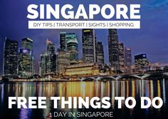 Source Many people moan that Singapore is boring and there's nothing to do. Ignore them. I just went there and the list of things to do in Singapore is absorbingly long. Sure, I only went there for a stopover and sure it ended