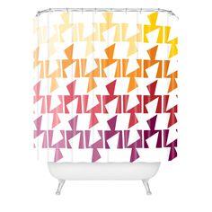 Karen Harris Bravo Warm Shower Curtain | DENY Designs Home Accessories