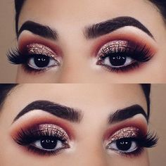 The beauty of brown eyes is irresistible. But it is nice to know the ways to enhance and intensify your natural beauty, and we know how to get there! #makeup #makeuplover #browneyes
