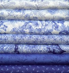 Summer Breeze Ii Blue And White By Sentimental By Lisassewingroom Easy Blue And White Quilt Patterns Quilt Blue And White Patchwork Quilts Blue And White Blue And White Fabric, Blue And White China, Love Blue, Blue China, White Fabrics, Photo Bleu, Fabulous Fabrics, White Decor, Shades Of Blue