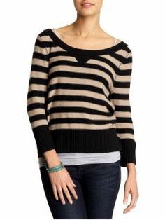Juicy Striped Pullover