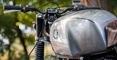 bmw r 100/7 fuel tank metal brushed