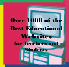 Dazzle on a Dime has linked over 1000 of the best websites for teachers and students.  You've got to check this out!
