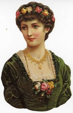 Artfully Musing: Vintage Victorian Scrap - First Set