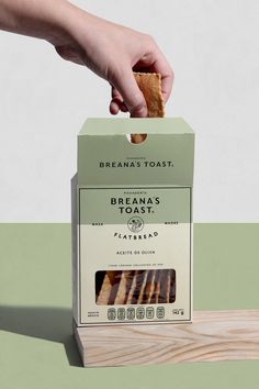 Branding & Packaging for breana´s toast, retail bakery company in Mexico Bakery Branding, Bakery Packaging, Vintage Packaging, Tea Packaging, Food Packaging Design, Custom Packaging, Packaging Design Inspiration, Brand Packaging, Corporate Branding