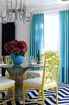 SO ready to get my antique Chinese Chippendale chairs repainted a la Jonathan Adler