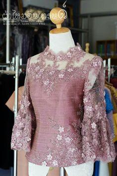 Blouses for lace styles Kebaya Lace, Kebaya Hijab, Kebaya Brokat, Batik Kebaya, Kebaya Dress, Batik Dress, Silk Dress, Modern Filipiniana Dress, Kebaya Modern Dress