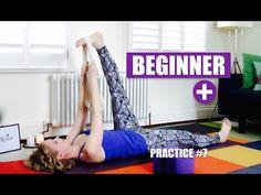 BEGINNER+ YOGA FLOW Open Hamstrings, Hips, Shoulders // Practice #7 - YouTube