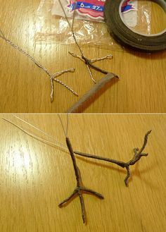 how to make bird feet - you never know when you might need this