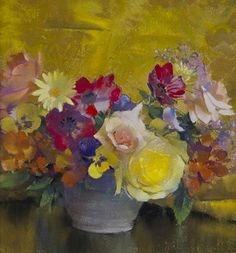 Laura Coombs Hills Still Life of Flowers Early 20th century