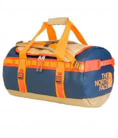 The North Face Sac Base Camp Duffel - taille S MOAB KHAKI/RED ORANGE