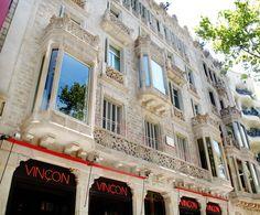 #Edificio Passeig de Gràcia, 96. #Rehabilitación de la #fachada principal