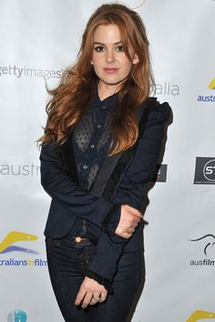 Aussie Magic: Isla Fisher appeared at the Australians in Film screening of Now You See Me on Wednesday in LA.