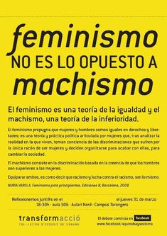 MrC on - frases - Citas Feminist Af, Feminist Quotes, Quotes Thoughts, Life Quotes Love, Gender Issues, Riot Grrrl, Intersectional Feminism, Anti Racism, Power Girl