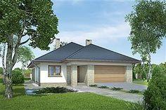 Projekt domu Morgan III 107,05 m2 - koszt budowy - EXTRADOM Gazebo, House Plans, Outdoor Structures, How To Plan, Outdoor Decor, Home Decor, Bonito, Projects, Kiosk