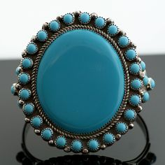 Nelson Burbank Navajo Sterling Silver Cuff Bracelet