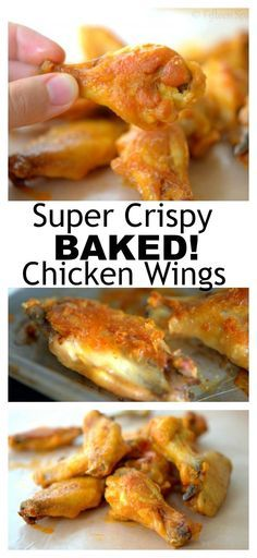 chicken crispy baked wings best ever the The Best EVER Crispy Baked Chicken WingsYou can find How long to bake chicken and more on our website Best Baked Chicken Wings, Cooking Chicken Wings, Crispy Chicken Wings, Chicken Wing Recipes, Crispy Baked Wings, Oven Baked Wings, Baking Powder Chicken Wings, Crispy Wings Recipe, Baking Wings