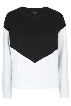 Mono Colour Block Sweatshirt - Topshop
