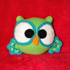 Ollie the Owl Pillow - One and Two Company Crochet pattern