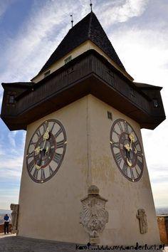 The clock tower in Graz, Austria #feelaustria