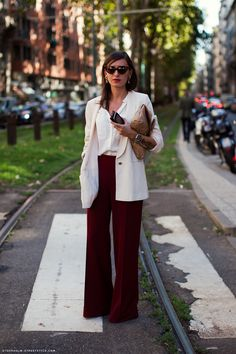 elegant and fiery street style