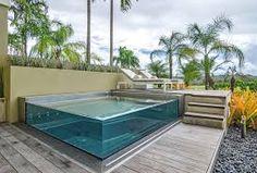 Kết quả hình ảnh cho glass sided pools