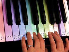 Braille piano