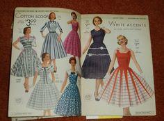 National Bellas Hess Catalog Spring Summer 1957