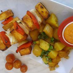 Recept: Tofu špízy, kucharidodomu.cz, foto: Samphotostock/ Tofu, Food Porn, Ethnic Recipes, Sweet