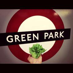 Green park....