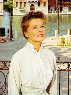 "1955 - Place 1 - Katharine Hepburn in ""Summertime"""