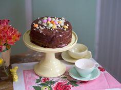 Påsktårta med choklad - Claras påsk, Claras recept, Dessert, Fika & Bakat, Påskmat - UnderbaraClara