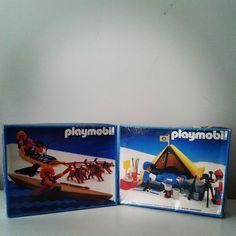 Novas caixas para a coleção #tbt #throwbackthursday #playmobil #playbrasilmobil #geobra #pcc #playmobilcollectorclub #iloveplaymobil #artic