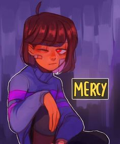 Seems like the human child doesn't agreed that MERCY is a good choice.