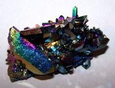 Titanium coated Quartz - Arkansas.