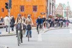 Copenhague já tem mais bicicletas do que carros rodando diariamente