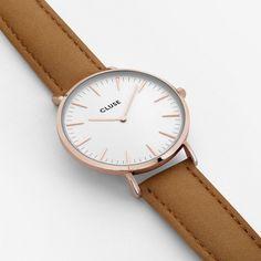 CLUSE La Boheme Rose Gold White Caramel Watch 7a959cc89d