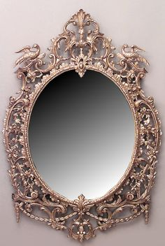 English Georgian mirror wall mirror gilt