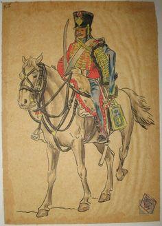 9e hussards 1er Empire